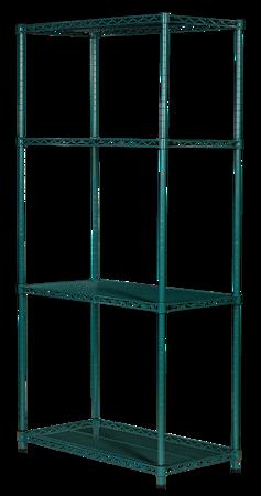 Regał noMICRO 4-półki (46x107x182cm)